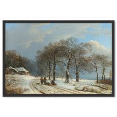 Tél Festmény Poszter