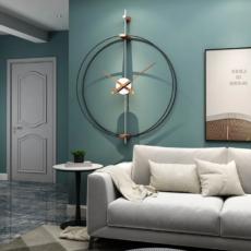 Nagy Kerek Falióra Minimál Luxus Stílus, 69x63 cm